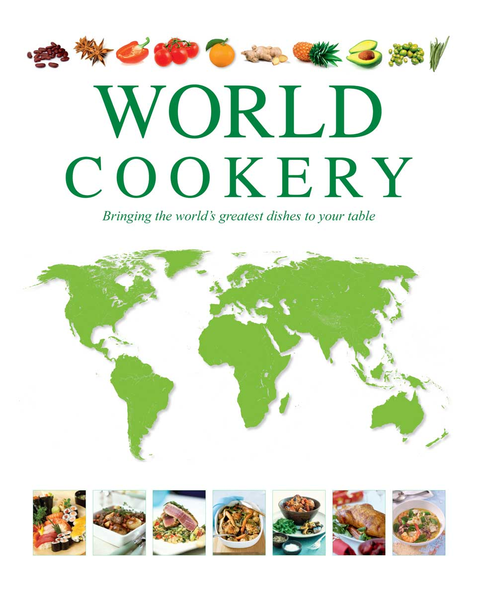 World Cookery Binder Cover