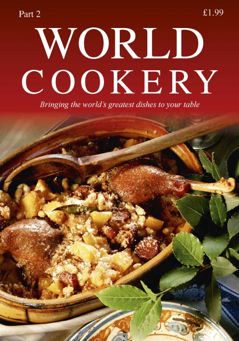 World Cookery Part 02 Front Cover