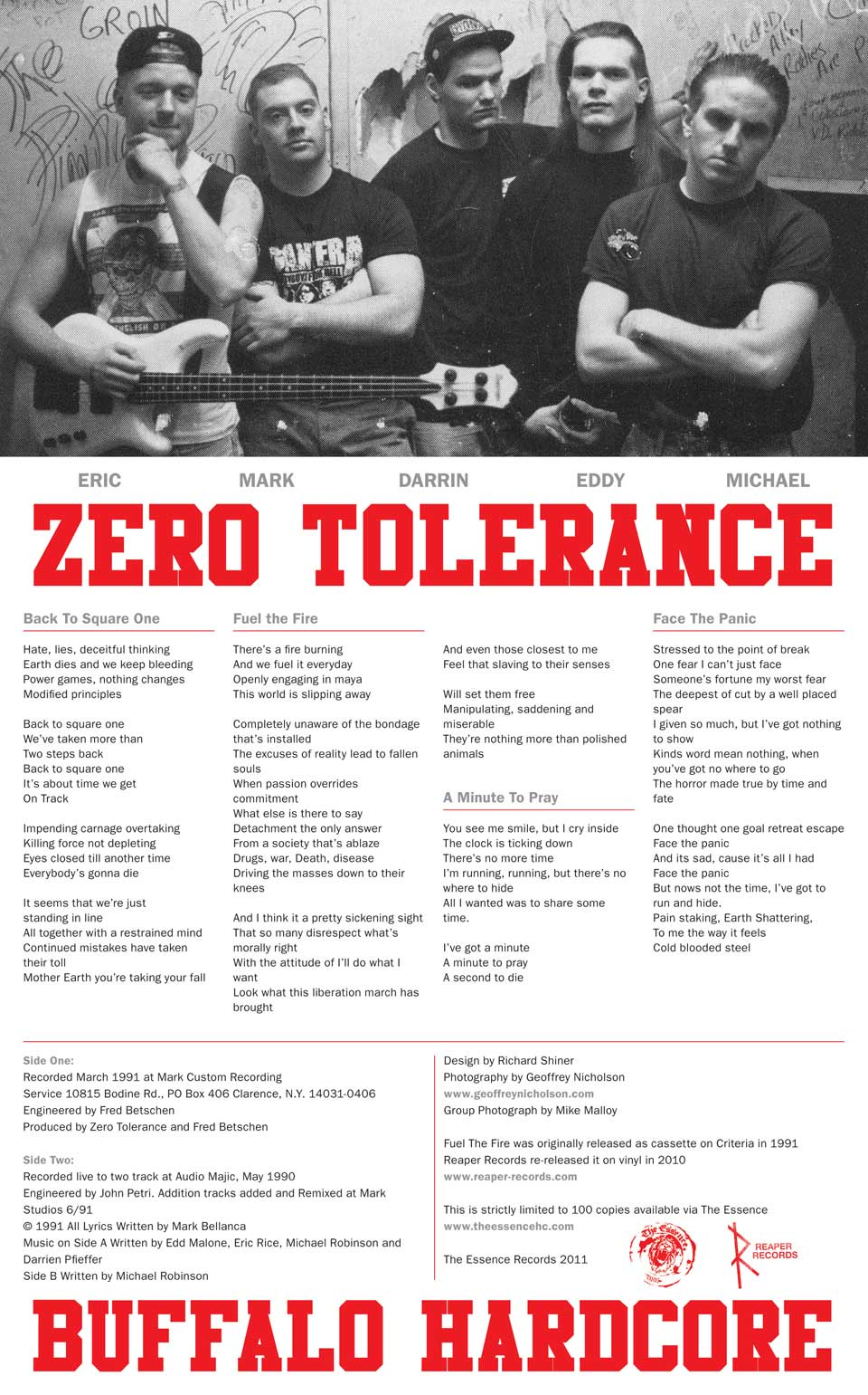 Zero Tolerance 7 Inch Inlay